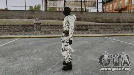 Schwedischer Terrorist Arktis für GTA 4 Sekunden Bildschirm