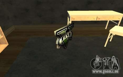 GTA V Save Icon pour GTA San Andreas troisième écran
