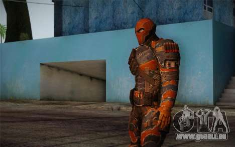 Deathstroke from Batman: Arkham Origins für GTA San Andreas dritten Screenshot