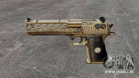 Pistolet de luxe Desert Eagle pour GTA 4 troisième écran