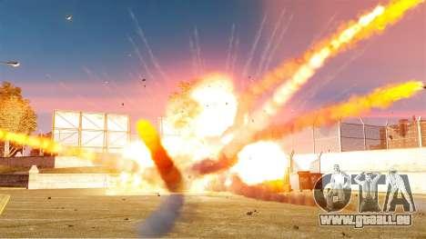 Le nouveau paramètre d'incendies et d'explosions pour GTA 4 troisième écran