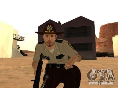 Rick Grimes pour GTA San Andreas quatrième écran