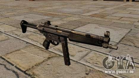 Mitraillette MP5 pour GTA 4