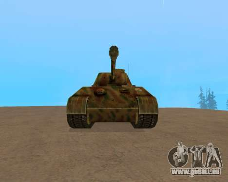 pz.kpfw v Panther pour GTA San Andreas laissé vue