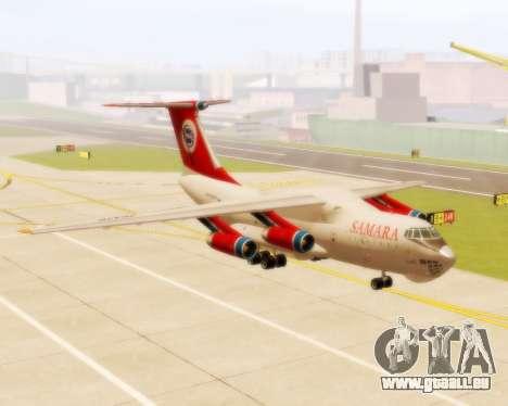 Il-76td Samara pour GTA San Andreas