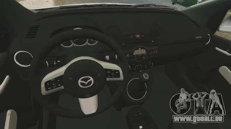 Mazda 2 für GTA 4 Innenansicht