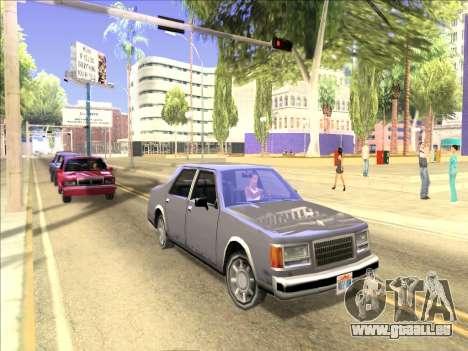 ENB nur Reflexion über Maschinen für GTA San Andreas dritten Screenshot