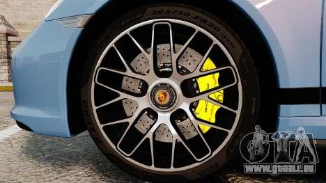 Porsche 911 Turbo 2014 [EPM] KW iSuspension für GTA 4 Rückansicht