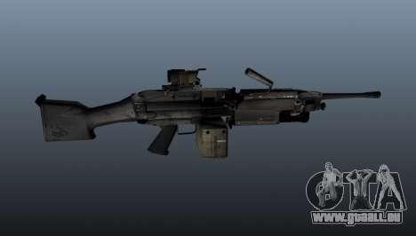 Die M249 Maschinengewehr für GTA 4 dritte Screenshot
