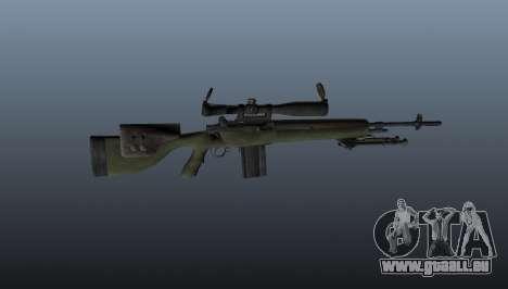 Fusil de sniper OSV-96 pour GTA 4 troisième écran