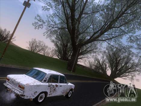 VAZ 21011 Cottage für GTA San Andreas Innen