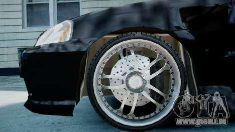 Honda Civic FnF pour GTA 4 est un droit