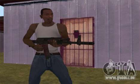 AK-12 pour GTA San Andreas sixième écran