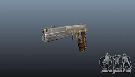 Elfenbein Pistole für GTA 4
