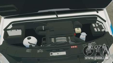 Mercedes-Benz Sprinter 2500 Prisoner Transport pour GTA 4 est une vue de l'intérieur