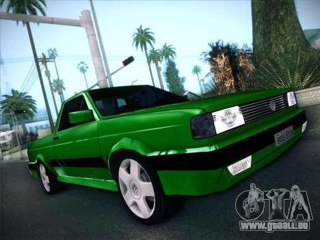 Volkswagen Saveiro 1994 für GTA San Andreas Rückansicht