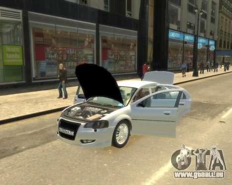 GAZ Volga Sajber für GTA 4 hinten links Ansicht