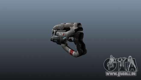 N7 Eagle Pistole für GTA 4 Sekunden Bildschirm