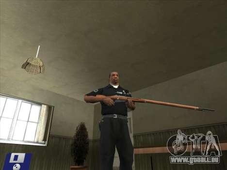 Armes de Pak intérieur pour GTA San Andreas quatrième écran