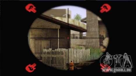 Walther WA2000 pour GTA San Andreas quatrième écran