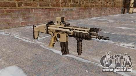 Sturmgewehren Sie FN SCAR-L für GTA 4