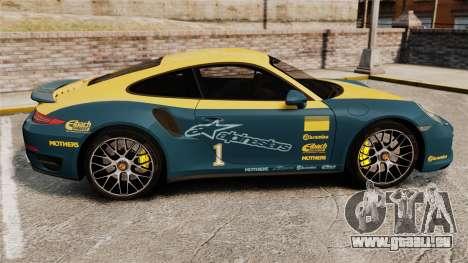 Porsche 911 Turbo 2014 [EPM] Alpinestars für GTA 4 linke Ansicht
