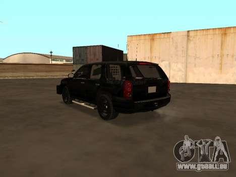 GMC Yukon ATTF für GTA San Andreas rechten Ansicht