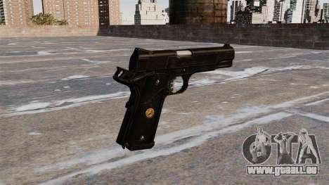 M1911A1 pistolet pour GTA 4 secondes d'écran