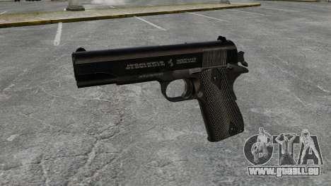 Colt M1911-Pistole-v1 für GTA 4 dritte Screenshot