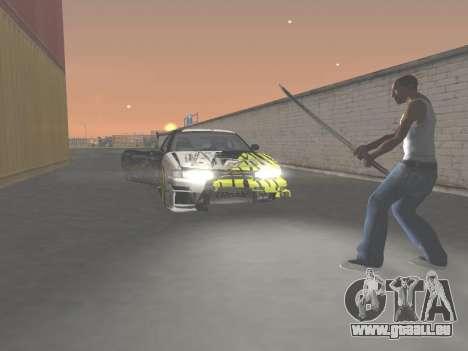 CSO Katana pour GTA San Andreas cinquième écran