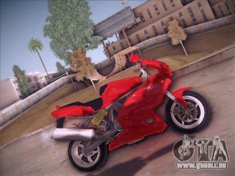 Ducati Supersport 1000 DS für GTA San Andreas linke Ansicht