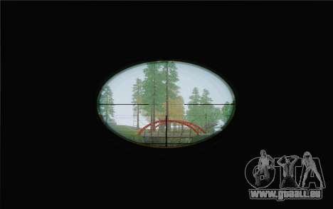 Enhanced Sniper Scope v1.1 für GTA San Andreas