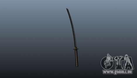 Le sabre long japonais Katana pour GTA 4