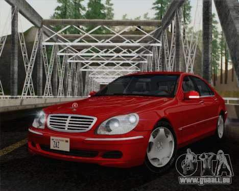 Mercedes-Benz S600 Biturbo 2003 pour GTA San Andreas