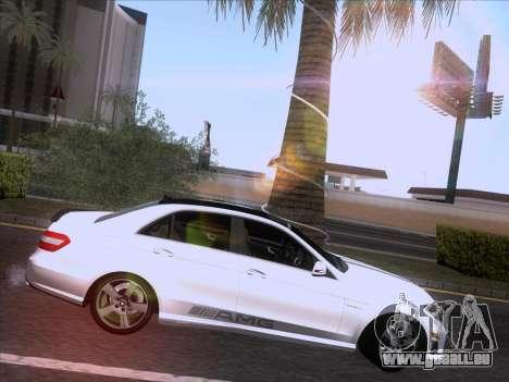 Mercedes-Benz E63 AMG 2011 Special Edition pour GTA San Andreas vue de côté