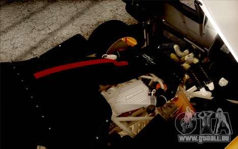 Pagani Zonda Cinque für GTA San Andreas Räder
