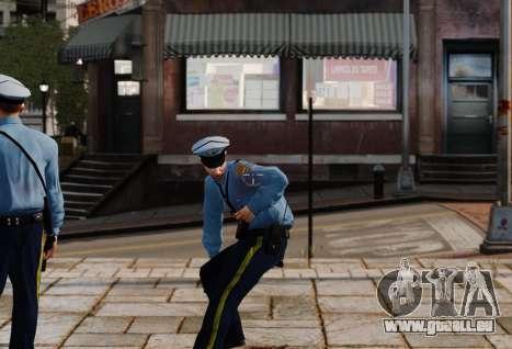 Das neue Fadenkreuz für mit dem Ziel für GTA 4 Sekunden Bildschirm