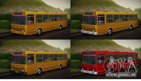 LIAZ 5256.00 Skin-Pack 5 pour GTA San Andreas