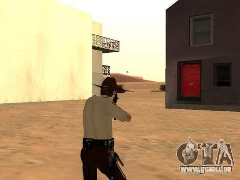 Rick Grimes pour GTA San Andreas cinquième écran
