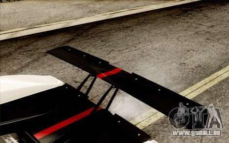 Pagani Zonda Cinque für GTA San Andreas Innen