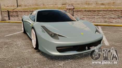 Ferrari 458 Italia 2009 für GTA 4