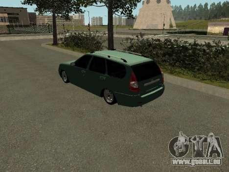 VAZ-2171 pour GTA San Andreas laissé vue