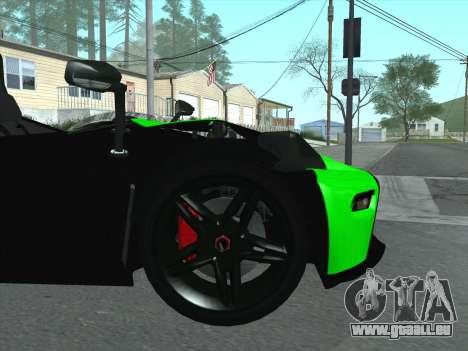 KTM Xbow R für GTA San Andreas Seitenansicht