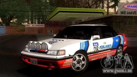 Subaru Legacy 2.0 RS (BC) 1989 pour GTA San Andreas vue de côté