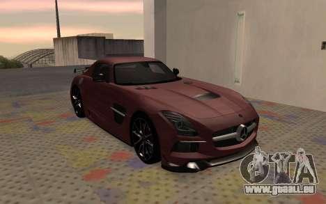 Mercedes-Benz SLS AMG 2013 Black Series für GTA San Andreas