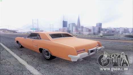 Buick Riviera 1963 pour GTA San Andreas laissé vue