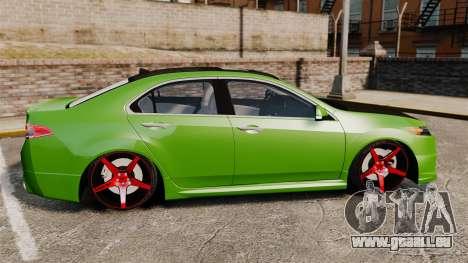 Acura TSX Mugen 2010 für GTA 4 linke Ansicht