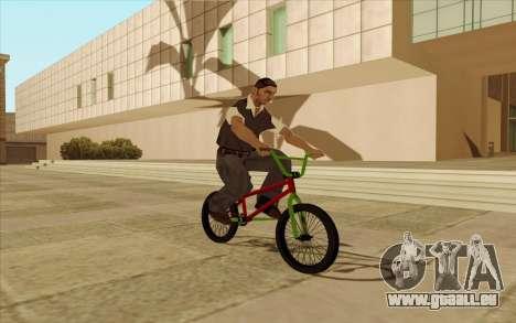 BMX pour GTA San Andreas moteur