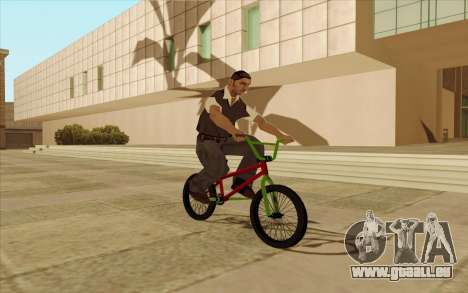 BMX für GTA San Andreas Motor