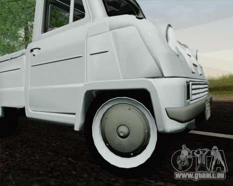 Honda T 360 pour GTA San Andreas vue arrière